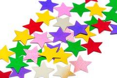 abstrakcjonistyczne deseniowe gwiazdy Zdjęcia Stock