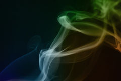 abstrakcjonistyczne dymne fala Obrazy Royalty Free