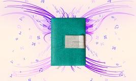 Abstrakcjonistyczne elektroniczne książki Obrazy Royalty Free
