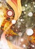 abstrakcjonistyczne fala Obraz Royalty Free