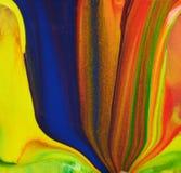 Abstrakcjonistyczne farb linie zdjęcie royalty free