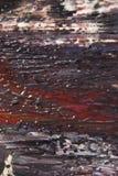 Abstrakcjonistyczne farb smugi, oceny na Czarnym tle i Fotografia Royalty Free