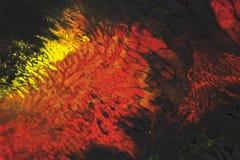 Abstrakcjonistyczne farb smugi, oceny na Czarnym tle i Zdjęcia Royalty Free
