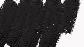 Abstrakcjonistyczne farby muśnięcia przemiany Wyjawiają z Luma Matte - przezroczystość zbiory wideo