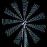Abstrakcjonistyczne freezelight krzywy Zdjęcie Stock