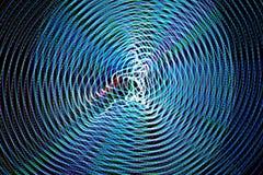 Abstrakcjonistyczne freezelight krzywy Obrazy Stock