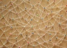 Abstrakcjonistyczne Geometryczne tekstur szpilki odizolowywać Zdjęcie Royalty Free