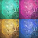 Abstrakcjonistyczne Grunge brudu tekstury Fotografia Royalty Free