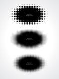 Abstrakcjonistyczne halftone kropki dla grunge tła Obrazy Royalty Free