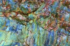 abstrakcjonistyczne kamienne tekstury Obrazy Royalty Free