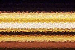 Abstrakcjonistyczne kolorowe ciosowe złociste czarne szarość linie Radosna tekstura i wzór Obrazy Royalty Free