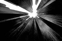 abstrakcjonistyczne kolumny Zdjęcie Royalty Free