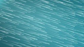 Abstrakcjonistyczne Latające lekkie smugi Płyną Gwiazdowego pole i lampasy Wykładają cząsteczki tło zbiory wideo