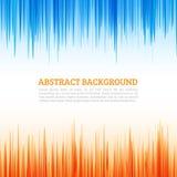 Abstrakcjonistyczne linie, Abstrakcjonistyczny tło Obraz Royalty Free