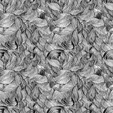 Abstrakcjonistyczne linie bezszwowy wzór. Fotografia Royalty Free