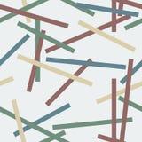 Abstrakcjonistyczne linie bezszwowy wzór Zdjęcie Royalty Free