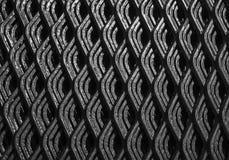 Abstrakcjonistyczne linie przemysłowy metal siatki wzór Obraz Stock