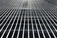 Abstrakcjonistyczne metal kratownicy linie Obraz Royalty Free