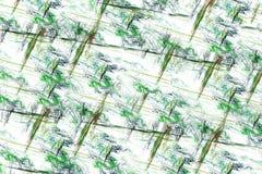 Abstrakcjonistyczne multicolor linie Zdjęcia Royalty Free