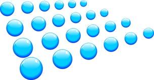 abstrakcjonistyczne piłki ustawiający wektor Obrazy Stock