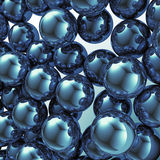 abstrakcjonistyczne piłki Obraz Royalty Free