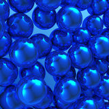 abstrakcjonistyczne piłki Zdjęcie Stock
