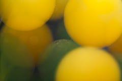 Abstrakcjonistyczne podwodne gry z bąblami, galaretowymi piłkami i światłem, Obrazy Stock