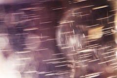 Abstrakcjonistyczne podwodne gry z bąblami, galaretowymi piłkami i światłem, Zdjęcia Royalty Free