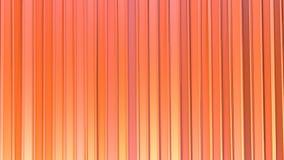 Abstrakcjonistyczne proste różowe pomarańczowe niskie poli- 3D zasłony jako uroczy tło Miękki geometryczny niski poli- ruchu tło royalty ilustracja