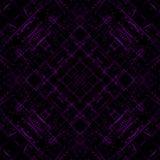 Abstrakcjonistyczne purpurowe lekkie linie na czarnym tle Zdjęcia Stock