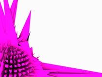 Abstrakcjonistyczne purpury Fotografia Royalty Free