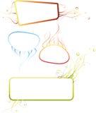 abstrakcjonistyczne ramy Fotografia Stock