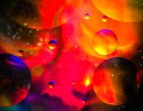 abstrakcjonistyczne sfery Zdjęcie Royalty Free
