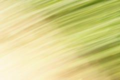 Abstrakcjonistyczne smugi w zieleni i kolorze żółtym Obraz Stock