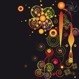abstrakcjonistyczne spirale Fotografia Royalty Free