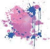 abstrakcjonistyczne tła menchii purpury Fotografia Royalty Free