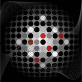 abstrakcjonistyczne tło kropki Obraz Stock