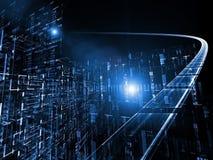 abstrakcjonistyczne technologie kosmiczne Fotografia Stock