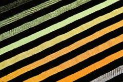 abstrakcjonistyczne tekstylne fala Obraz Royalty Free