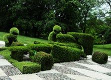 Abstrakcjonistyczne traw postacie Zdjęcia Stock