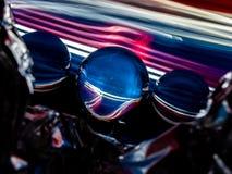 Abstrakcjonistyczne warstwy Faux lód Ograniczają widok Lensballs obrazy royalty free