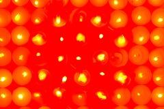 abstrakcjonistyczne świeczki Obrazy Royalty Free