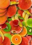 abstrakcjonistycznego środowisk kolorowa owoców Zdjęcia Royalty Free