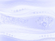 abstrakcjonistycznego aka tła błękitny lekka muzyka dziwaczna Obrazy Royalty Free