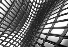 abstrakcjonistycznego aluminiowego tła wzoru błyszczący kwadrat ilustracji