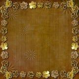 abstrakcjonistycznego antycznego tła scrapbooking styl Obraz Royalty Free