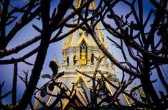 Abstrakcjonistycznego architektury Sothon wararam worawihan świątynia Zdjęcie Royalty Free