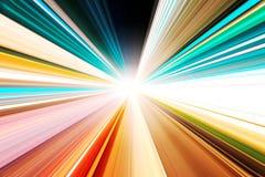 abstrakcjonistycznego autostrady ruchu drogowa prędkość Zdjęcie Royalty Free