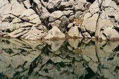 abstrakcjonistycznego banka piękna rzeka Fotografia Stock