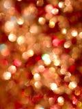 abstrakcjonistycznego bokeh czerwony biel Zdjęcia Stock
